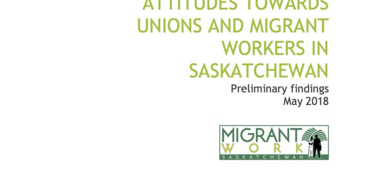 Migrant workers and their union: Survey results